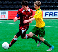 SYFA Final Clydebank United vs Tynecastle FC U16