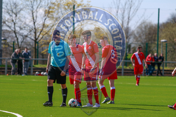 Inspiresport Scottish Youth Cup Semi Final, Clydebank FC Vs Beit