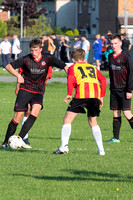Giffnock SC Red v Rossvale FC Rovers (U15s)