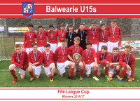 Balwearie (U15s) - Fife League Cup