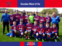Dundee West (U13s) - Brown Cup
