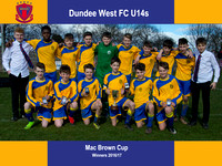 Dundee West FC (U14s) - Mac Brown Cup