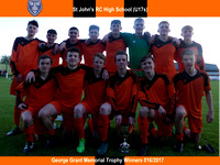 St John's RC HS (U17s) - George Grant Memorial Trophy