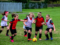 Coatbridge Rovers Girls U9 Training Session