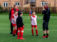 Cambuslang FC Academy training session
