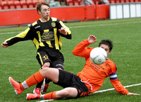 SYFA Final Dundee United SC vs Hutchison Vale U15